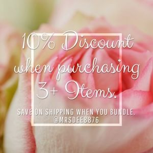 10% Discount on 3+ Items